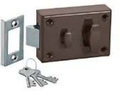 Godrej 7 Lever Night Latch - Outside Opening Lock