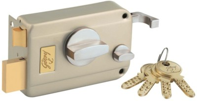 Godrej Ultra Twin Bolt - 1CK - Satin Nickel Finish Lock
