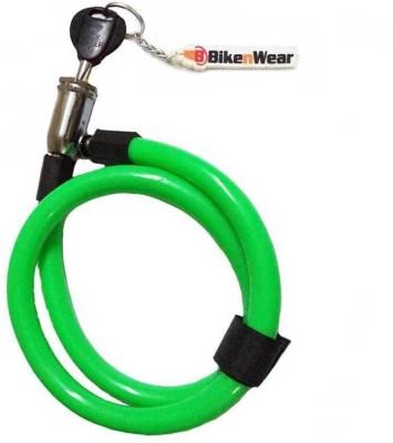 ERCO Multi-Purpose Spiral Green Cable Lock