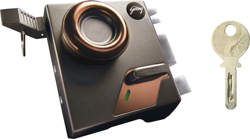Godrej EXS Altrix 1CK Royal Titanium Lock(Brown)