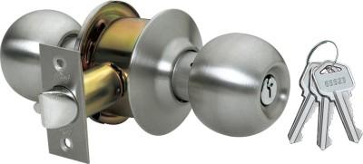 Godrej Cylindrical - Ss Finish - Premium Lock