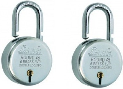 Link Round Bcp 45 (Pack of 2) Padlock