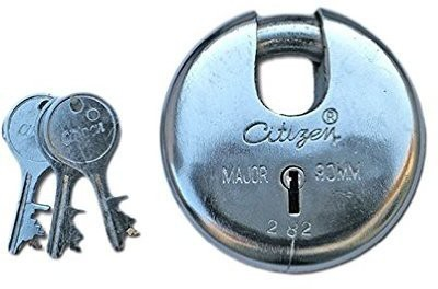Citizen Round Shutter 90 MM 3 Keys Lock