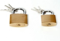 SGB 63mm & 50mm Pack Of 2 Lock(Gold)