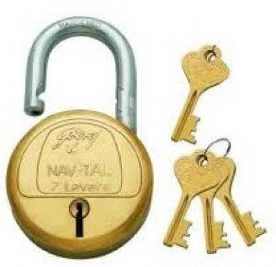 Godrej Navtal 7 Lever 3 keys Padlock