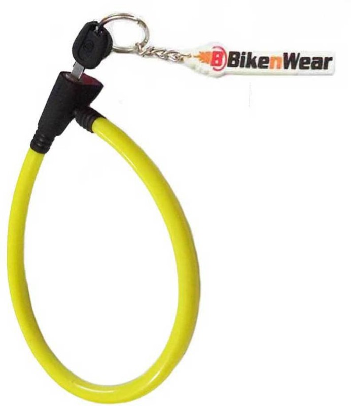 ERCO Heavy Duty Multi-Purpose Yellow Cable Lock(Yellow)