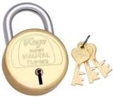 Koyo 7 Levers Super Nau-Tal Lock (Gold)
