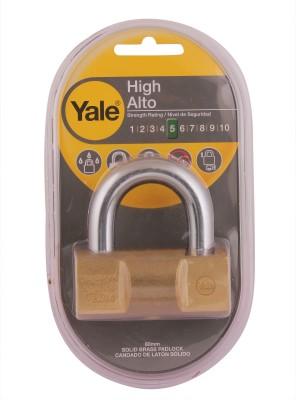 Yale Hammer Series Solid Brass YE2/80/138/1 Padlock