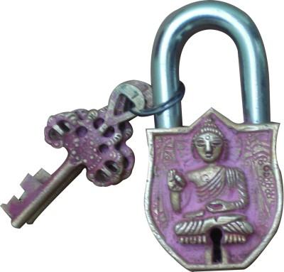 Aakrati Antique Finish of Gautam Buddha Figure Lock