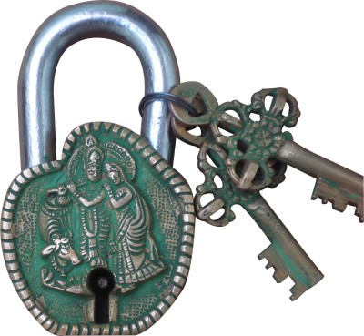 Aakrati Aakrati Brassware Pad Locks of Radha Krishna Padlock