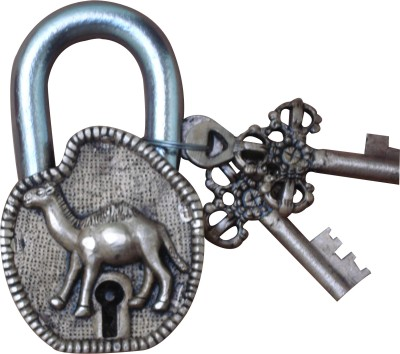 Aakrati Brass of Camel Figure For D?cor Padlock