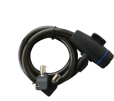 Adraxx Cycle With Tamperproof Key Cable Lock