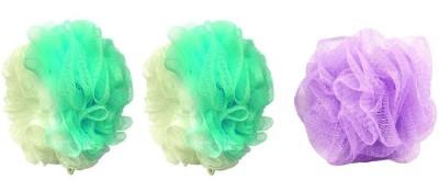 AntiqueShop Body Bath Sponge Pack Of 3
