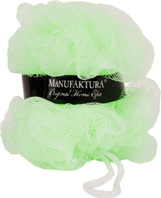 Manufaktura Home Spa Green Body Wash Loofah