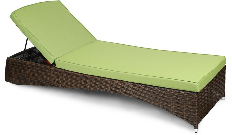 Svelte Metal Lounger(Finish Color - Brown)