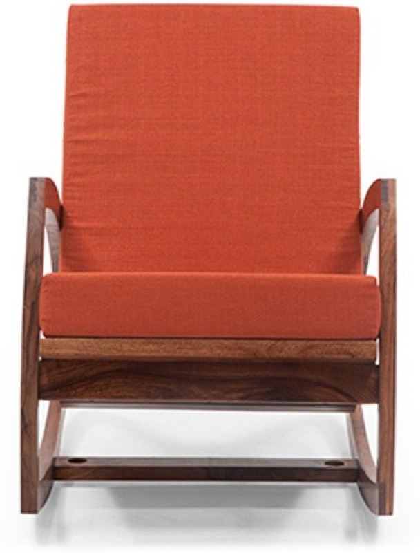 Urban Ladder Dylan Solid Wood Lounger(Finish Color - Teak)
