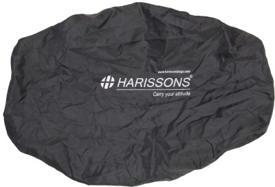 Harissons Rain Cover Rain Cover DX Luggage Cover(Medium, Black)