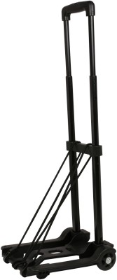 HERCULES TROLLEYS HT-25KGS-BLACK Luggage Trolley(Foldable)