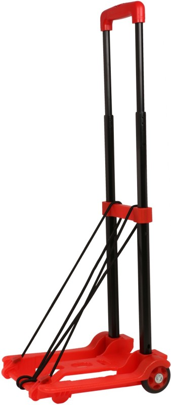 HERCULES TROLLEYS HT-25KGS-RED Luggage Trolley(Foldable)