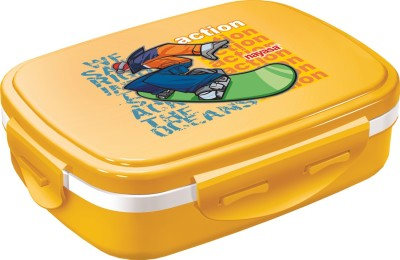 Nayasa Nutri Kids Yellow 1 Containers Lunch Box