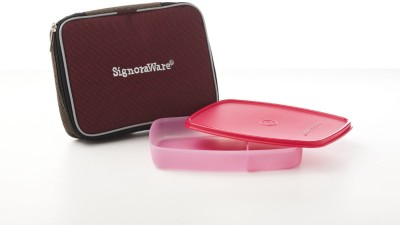Signoraware Slim Lunch Box with Bag 1 Containers Lunch Box
