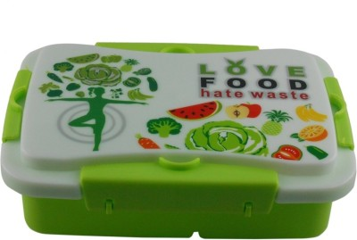 Infinxt Love Food Kids Green 1 Containers Lunch Box