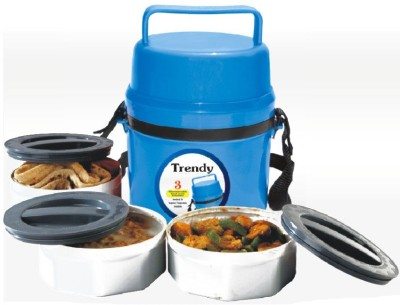 DAUJI,S COLLECTION TIFFINBLTRD 3 Containers Lunch Box