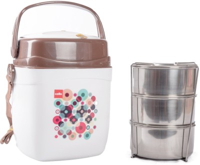 Cello 134611 3 Containers Lunch Box