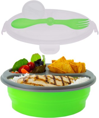 Smart Planet Ec-34r3g 1 Containers Lunch Box