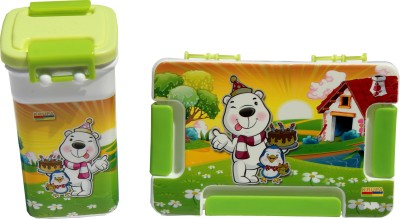 Scrazy Birthday Bear Tiffin Set 1 Containers Lunch Box