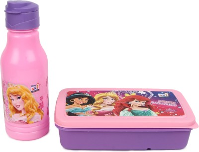 SKI expert gift set pink01 2 Containers Lunch Box