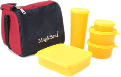 Polyset Magic Seal-Luxur 5 Containers Lunch Box