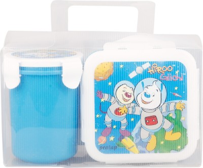 Brecken Paul Kids With Water Glass 1 Containers Lunch Box