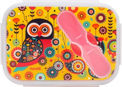 Chumbak Paisley Owl Lunch Box 1 Containers Lunch Box