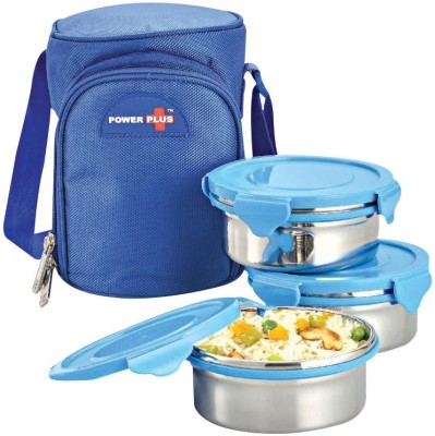 Power Plus MEEH711415 3 Containers Lunch Box