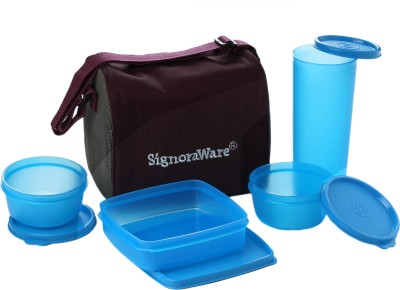 Signoraware Best Lunch Jumbo 3 Containers Lunch Box