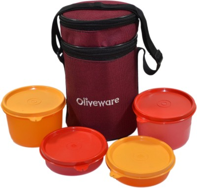 Oliveware LB36 (1) 4 Containers Lunch Box