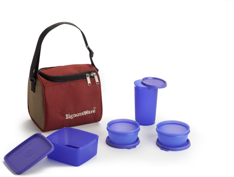 Signoraware 562 4 Containers Lunch Box(1050 ml)