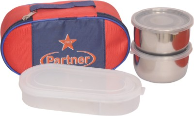Jmd Homeware Partner 3 Containers Lunch Box