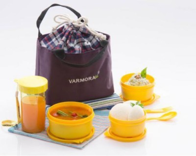 Varmora Style 4 Containers Lunch Box