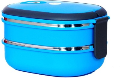 Krypton Assorted 2-BLU-1 2 Containers Lunch Box