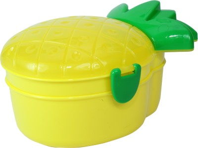 FabSeasons LBX10yellow 2 Containers Lunch Box