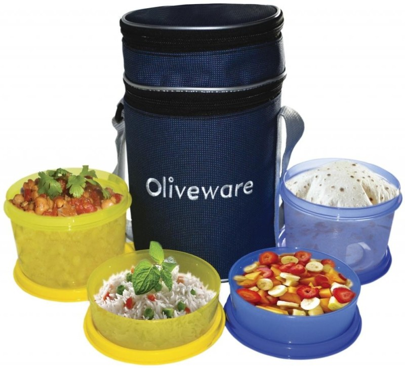 Oliveware LB36 4 Containers Lunch Box(1430 ml)