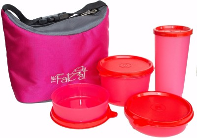 The Fat Cat lb_002 4 Containers Lunch Box