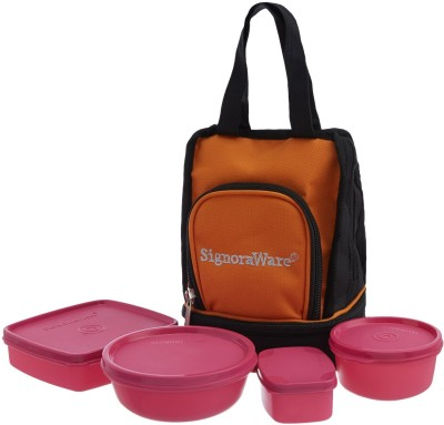 Signoraware 536P 4 Containers Lunch Box