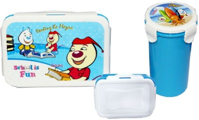 Scrazy cartoon character 3 Containers Lunch Box