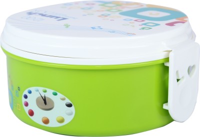 FabSeasons LBX09green 2 Containers Lunch Box