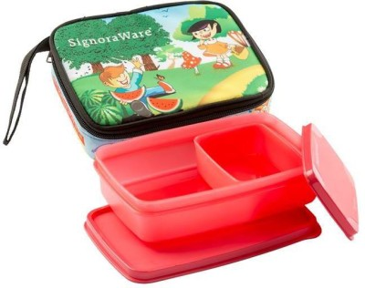 Signoraware Friends Compact 2 Containers Lunch Box