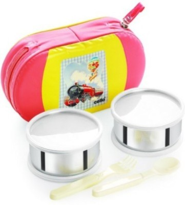 Cello World Get Eat 2 Containers Lunch Box