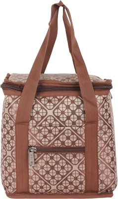 Yark 301 Brown Lunch Bag 1 Containers Lunch Box